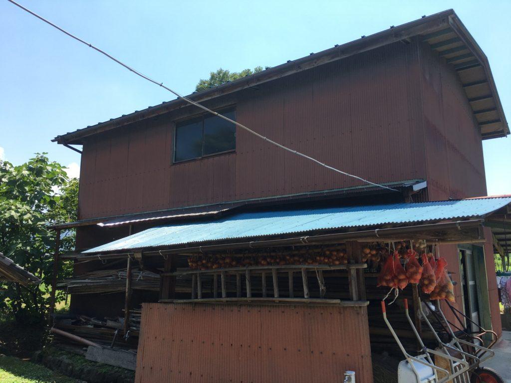 屋根トタン波板と樋交換完了