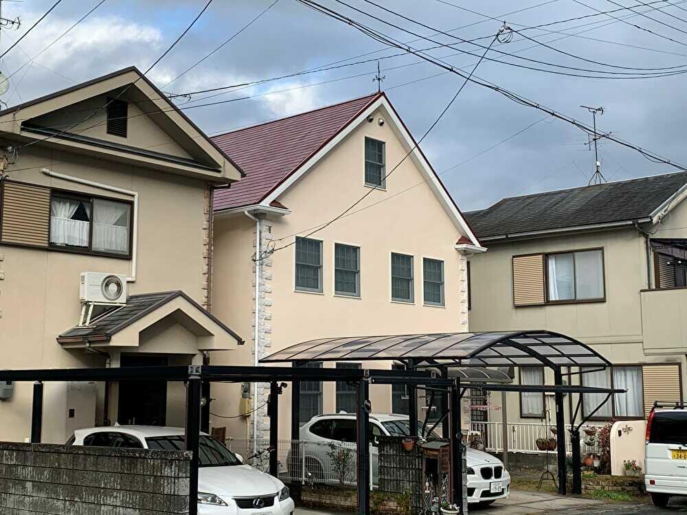 屋根、外壁塗装完成